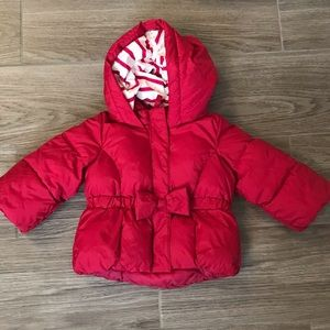 EUC Baby Gap Hot Pink Puffer Coat